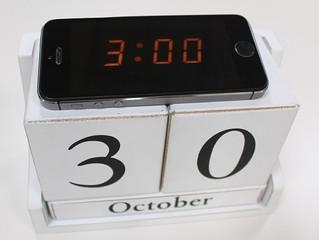 Adapta tu reloj biológico al horario de invierno.