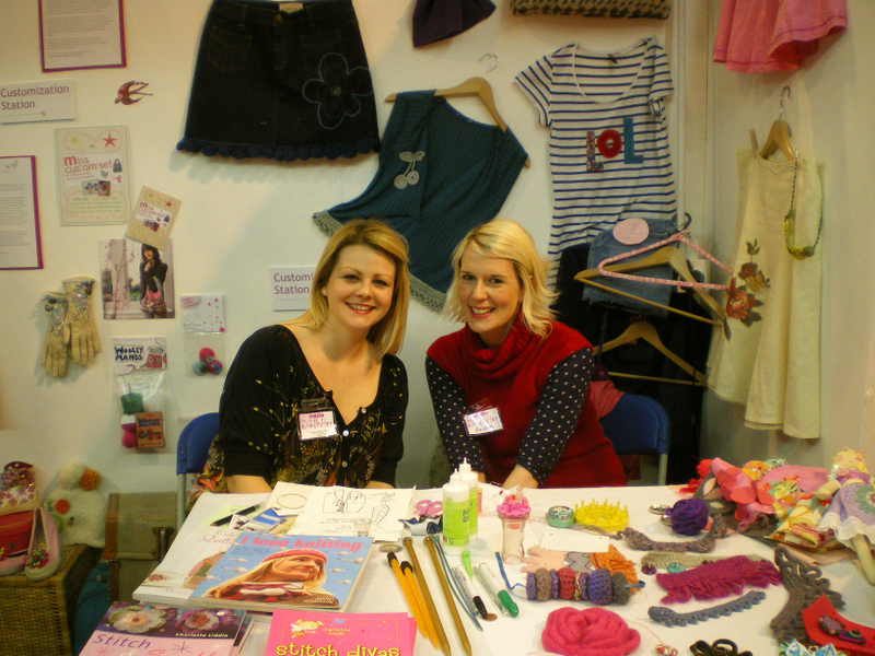 Charlotte and Rachel at SECC Glasgow
