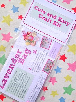 Patchwork Lavender Bag Kit