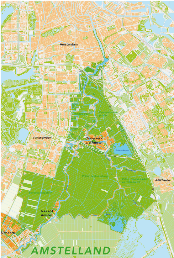 Amstelland - de groene long van Amsterdam