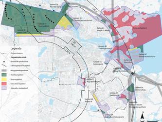 Zoekgebieden voor windenergie binnen stadsgrenzen aangepast - Amstelscheg niet langer zoekgebied