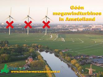 Geen megawindturbines in Amstelland! Teken de petitie