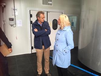 Gedeputeerde Esther Rommel bezoekt het Amstelland