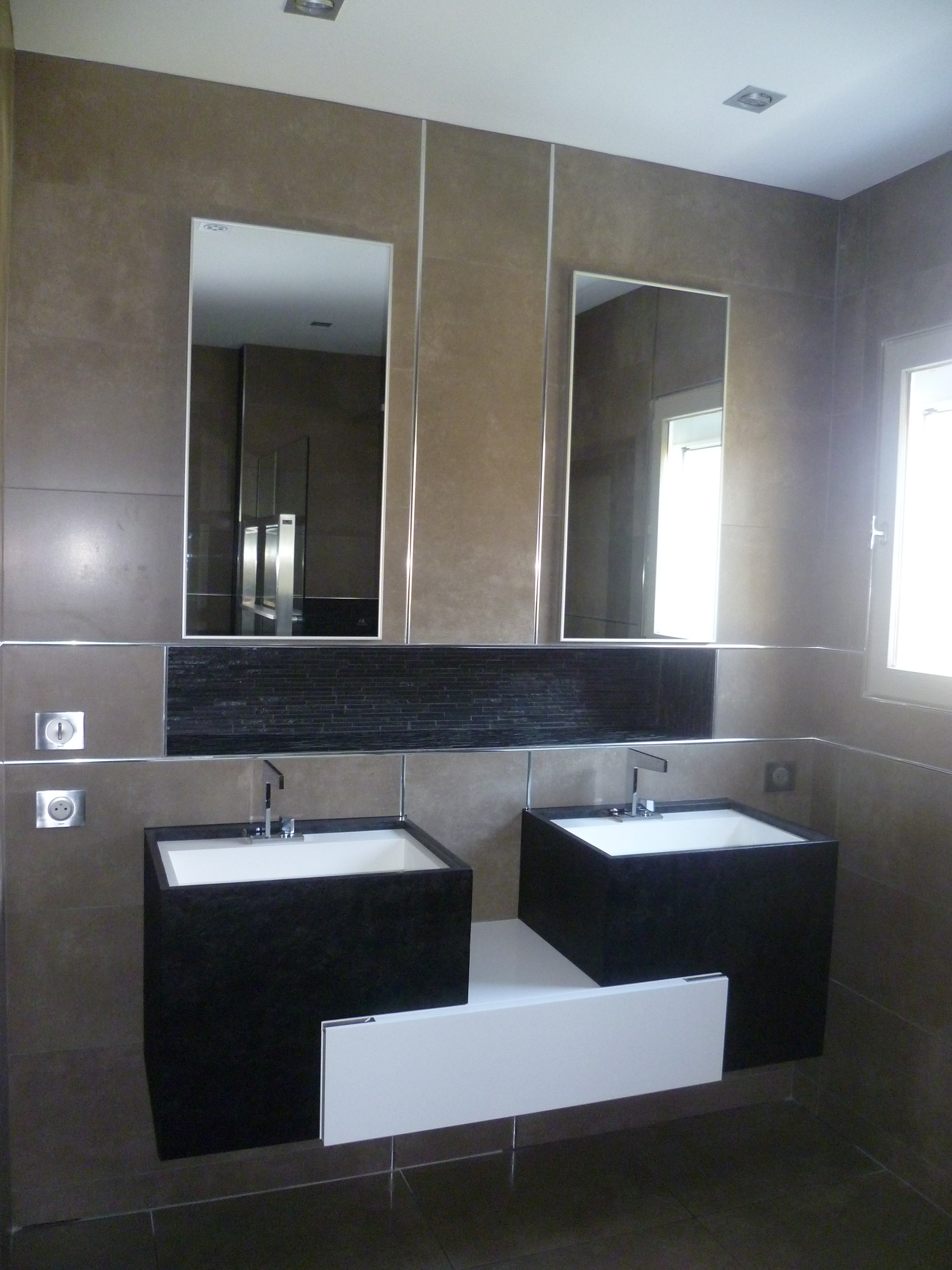 Salle de bain contemporaine | atelier-archi-ps