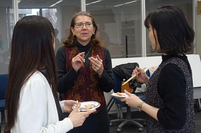 Lecturers in Engineering at Chuo University: Mary Nishikawa, Kaneko Kimura & Seira Takemoto