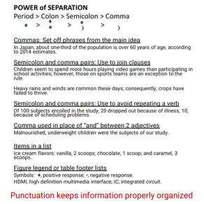 Lexaly Communications-世界社会科学フォーラム2018にて反響を呼んだポスター「句読法のコツ」