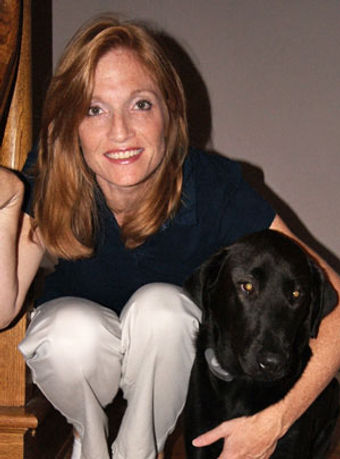 Kelly Mazzeo and Pepper