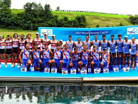 Toller 2. Platz für Martin und sein Team beim Junioren Städte-Achter in Luzern