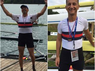 Zwei Titel bei Masters WM in Bled