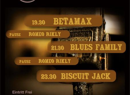 Blues Night in Münsingen am 29.07.17