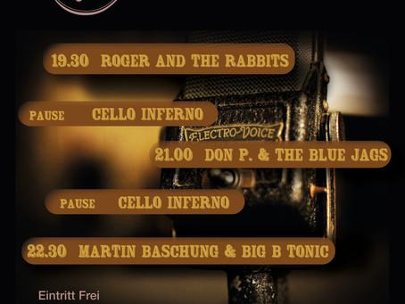 Blues Night in Münsingen am 27.07.19