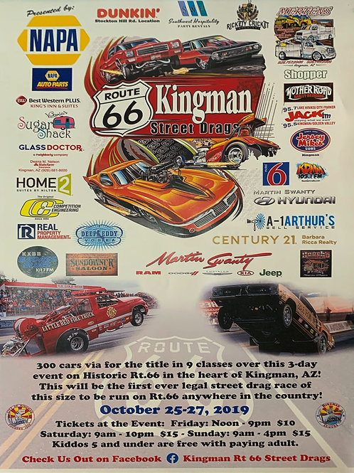 Kingman Street Drags Poster