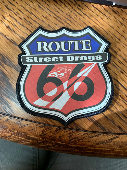 Route 66 Street Drags patch