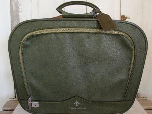 Vintage Flite Line Green Suitcase (Local AZ Pickup Only)