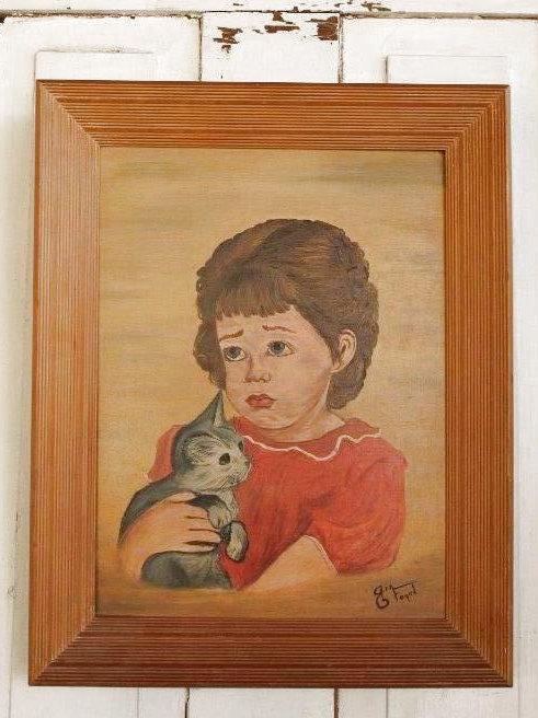 Original Pouty Girl Artwork