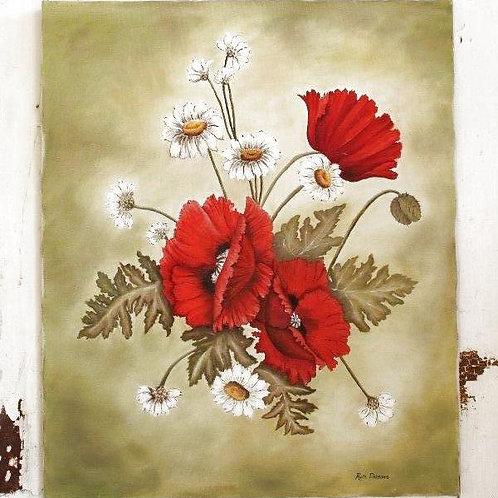 Original Floral Artwork