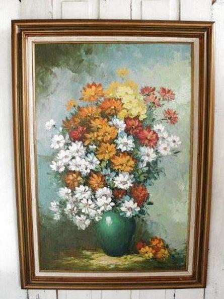 Large Original Floral Artwork