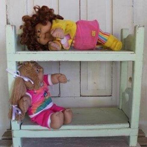 Vintage Baby Doll Bunk Bed