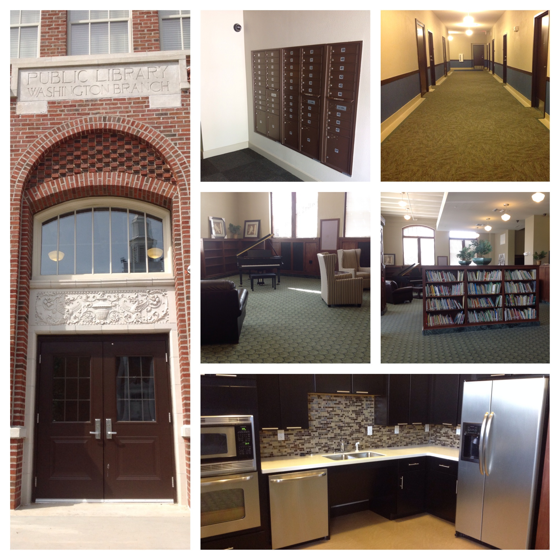 COMMERCIAL REMODEL - LIBRARY