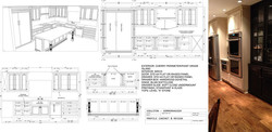 LEAWOOD SOMMIER KITCHEN DRAWING