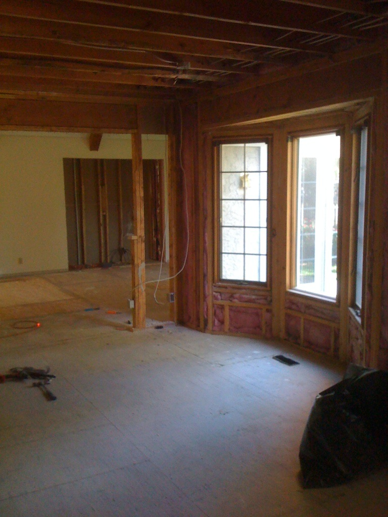 LEAWOOD SOMMIER KITCHEN DEMOLITION