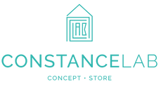 Logo complet Constance lab logotype