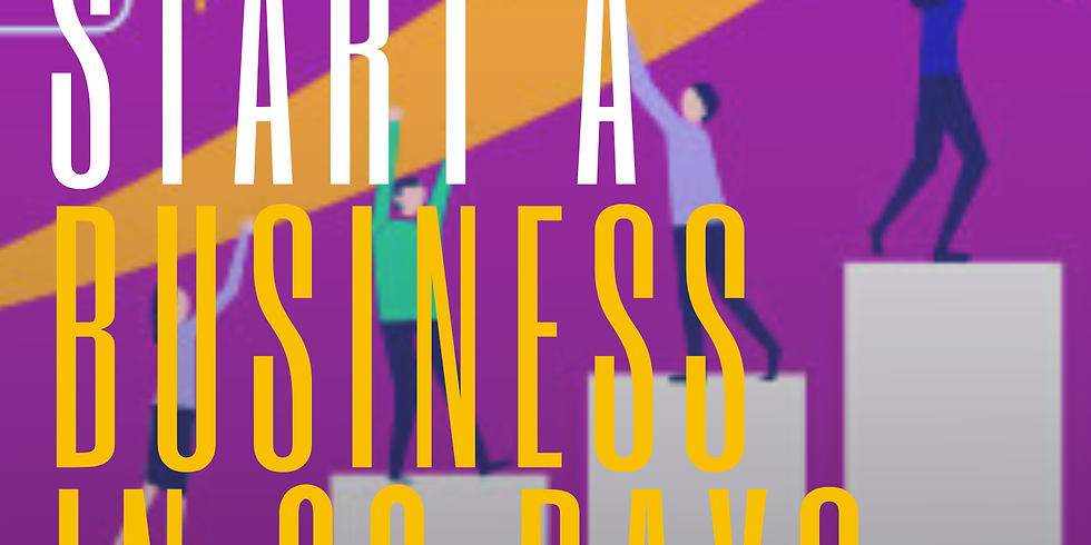 """""""How to Start a Business in 30 Days"""" Digital Workshop"""