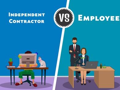 Employees vs independent contractors