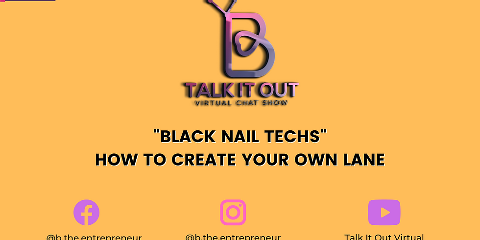"""Talk It Out: """"Black Nail Techs"""" How to Create Your Own Lane"""