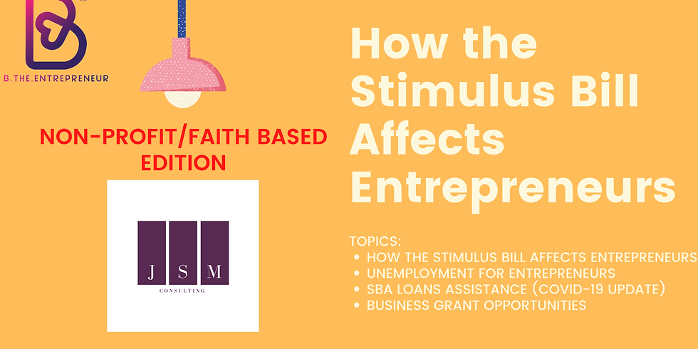 Understanding the Stimulus Bill for NON-PROFITS/CHURCHES (1)
