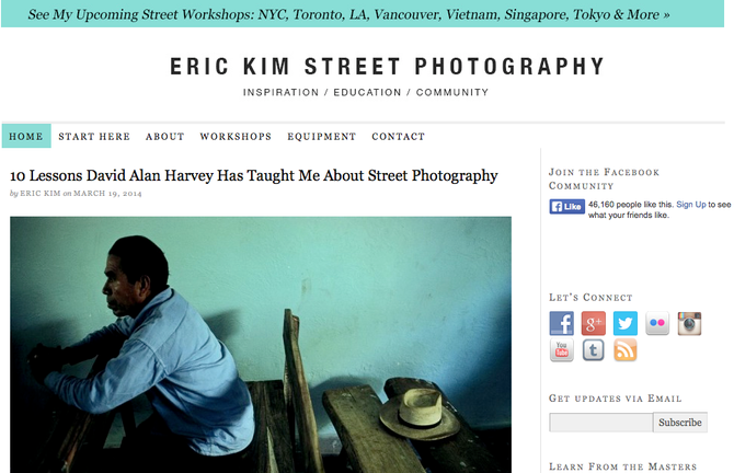 Street Photography Blog by Eric Kim