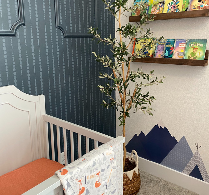 ONE ROOM CHALLENGE - NURSERY [WEEK FIVE]