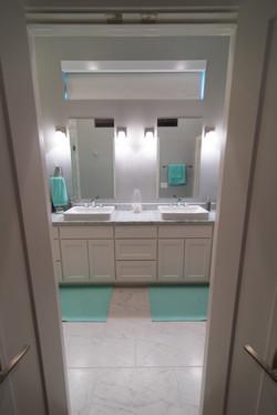 Austin Interior Design_Marble Bathroom