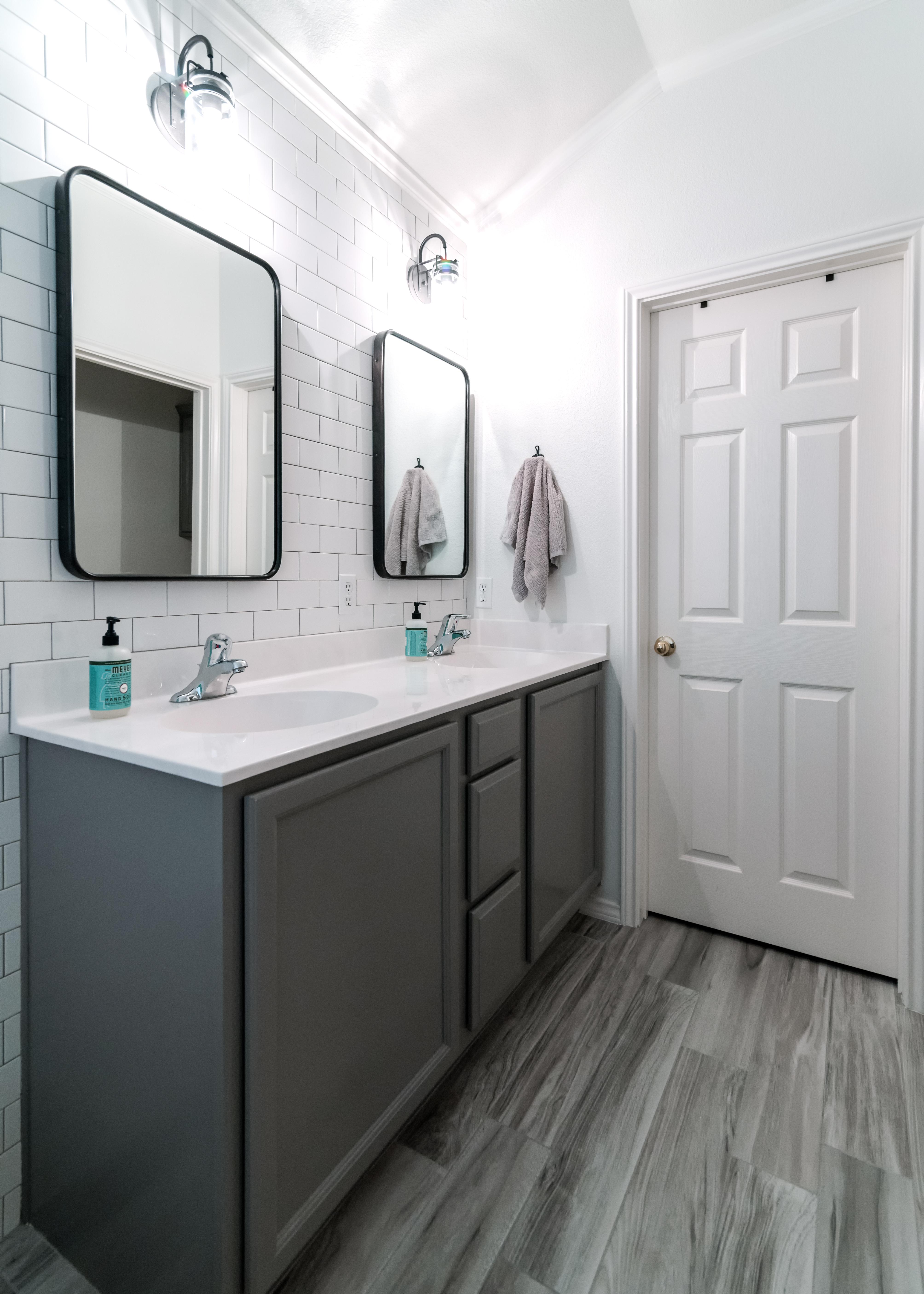 Cerulean Concepts Master Bathroom