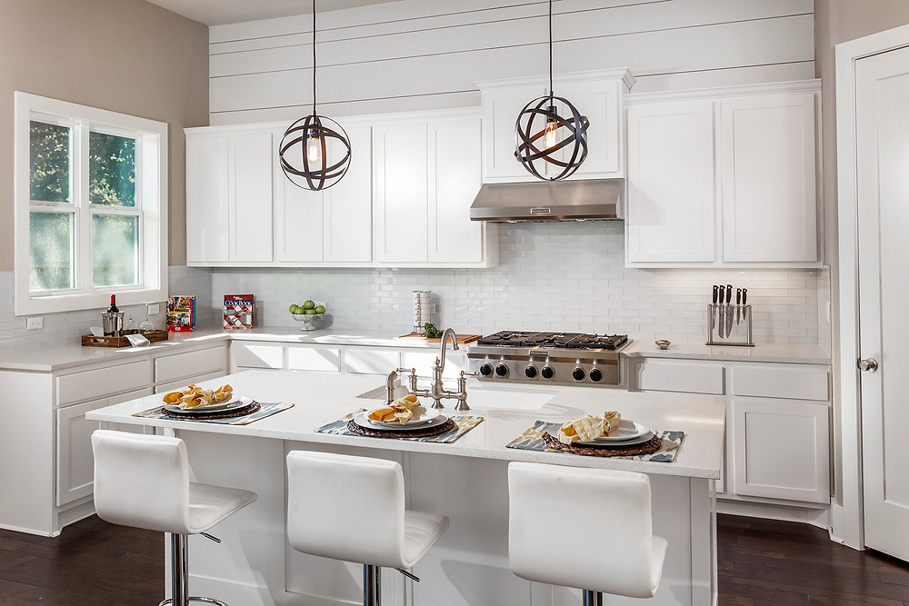 White Kitchen by Cerulean Concepts