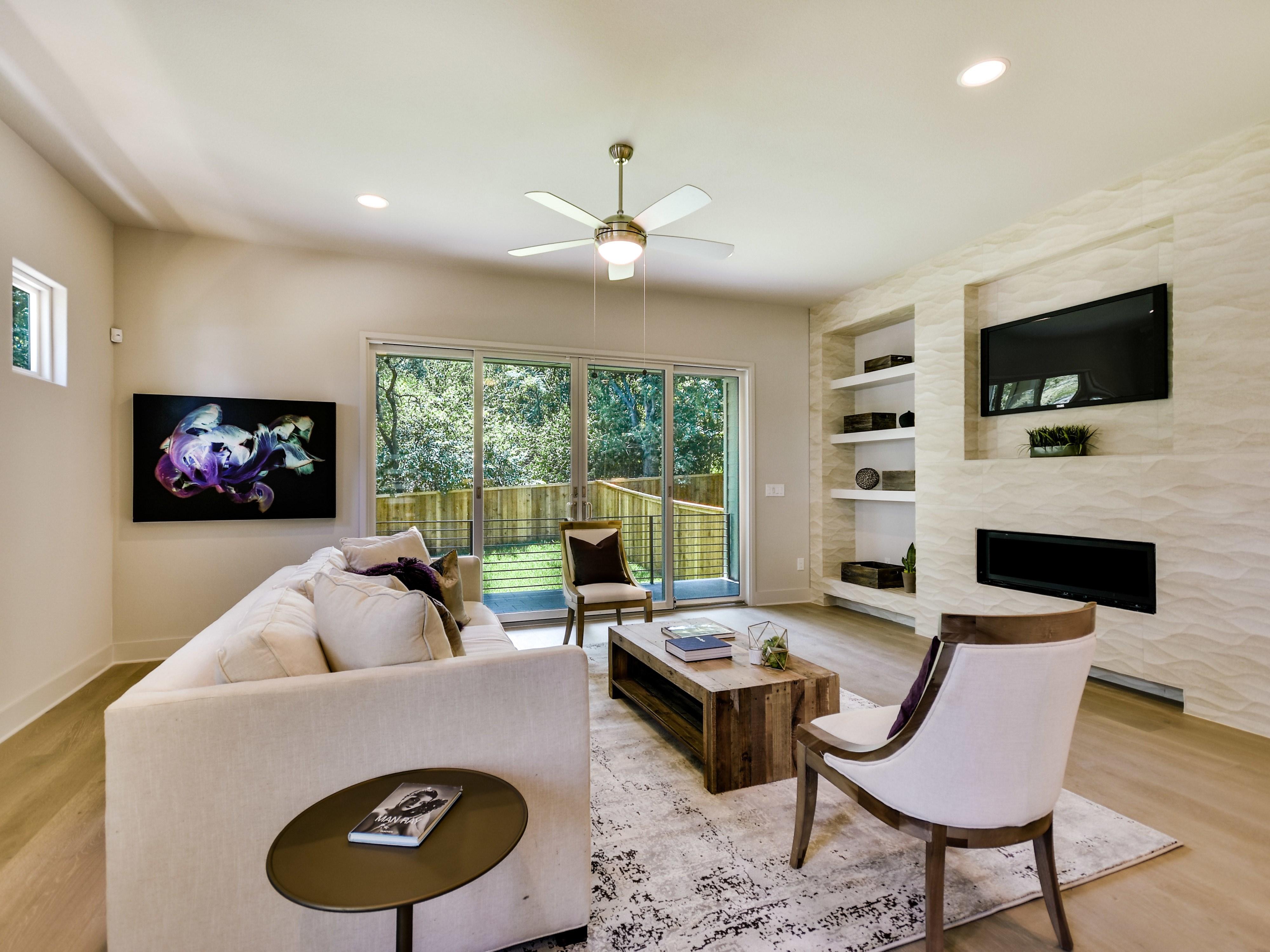 Austin Interior Design_Living Room Design