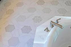 Austin Interior Design_Hexagon White Carrara