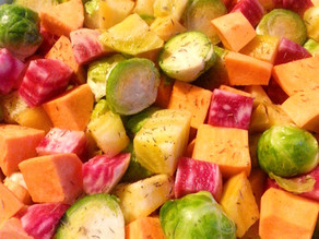 Rainbow Roasted Root Veg With Maple & Thyme