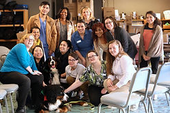 Caryn therapy dog visit.jpg