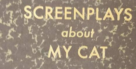 Journal:  Screenplays About My Cat