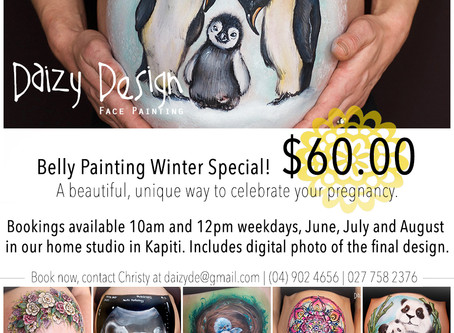 Belly Bump Painting Midweek special!