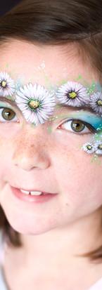Daisy Face Paint Design