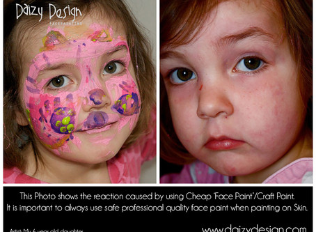 Why Good Face Paints are so Important