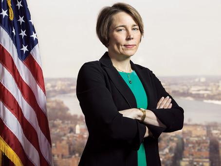 Attorney General, Maura Healey Endorses Kip Diggs
