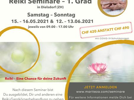 Reiki 1. Grad Seminar
