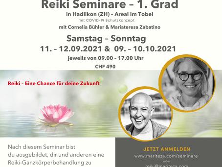 Reiki 1. Grad Seminar in Hadlikon (ZH)