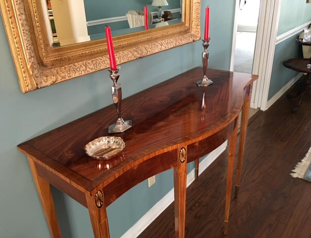 Hall Table, Federal