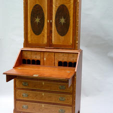 Bookcase on Chest
