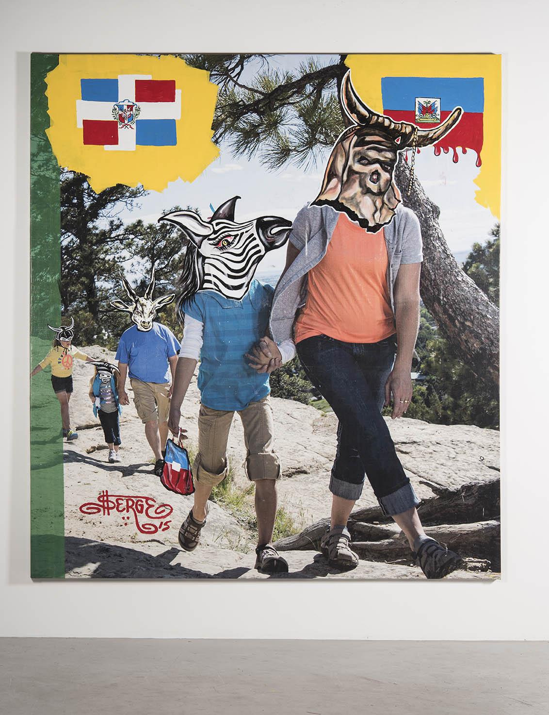 Haitian Hike Home 2015
