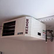 reznor heater installation